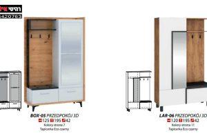 ארון כניסה BOX-05+LAR 06