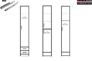 ארונות סקיצות דלת 1